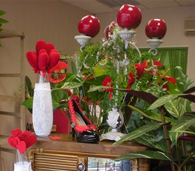 Célébrez la Saint-Valentin avec des fleurs.