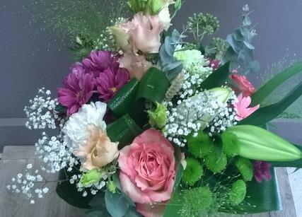 Un bouquet en cadeau d'anniversaire