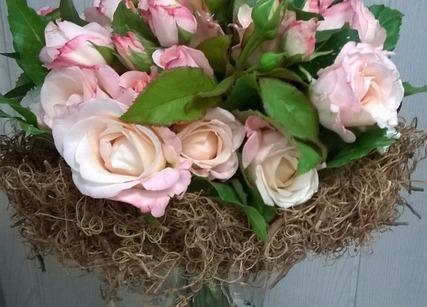 belles roses claires