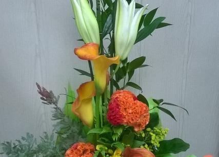 Bouquet en cadeau de retraite