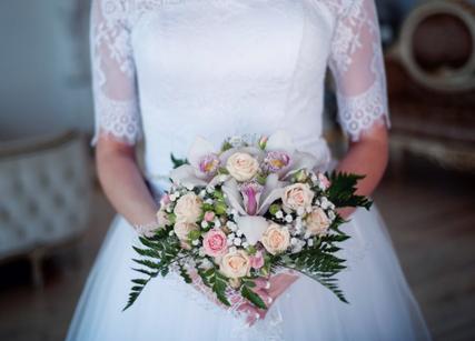 Bouquet rond pour mariage