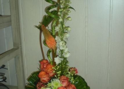 Bouquet exotique départ à la retraite