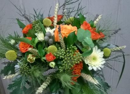 Bouquet rond pour offrir à la Fête des Mères