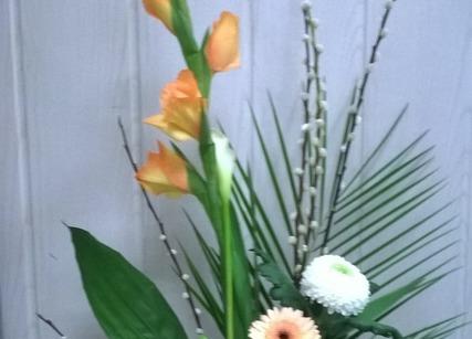 Composition florale à offrir
