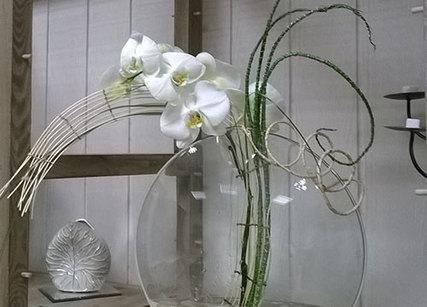 Décoration orchidée