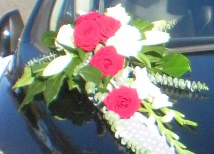 fleurs pour véhicule