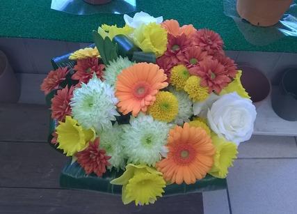 Plaisir d'offrir des fleurs