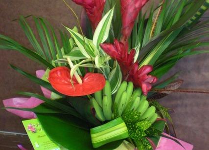 Bouquet de décoration de locaux