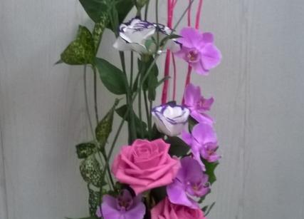 Composition florale fête des mères