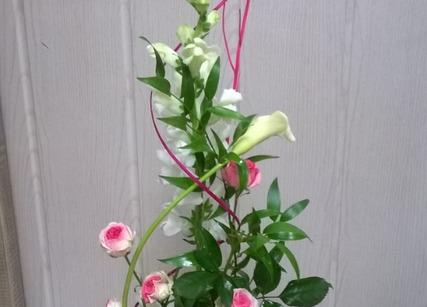 Composition florale à offrir pour la fête des mères