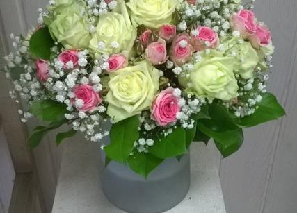Bouquet rond pour la fête des mères