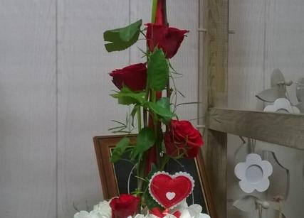 Bouquet de fleurs pour la Saint Valentin