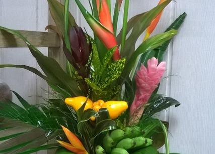 Composition florale pour entreprise