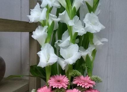 Composition florale pour un anniversaire