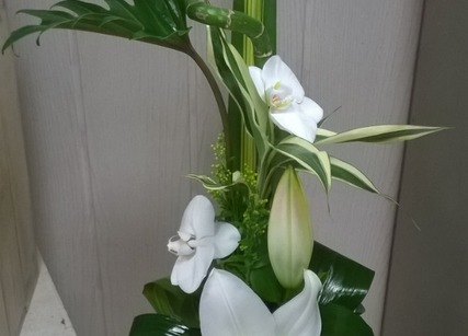 Composition florale pour mariage