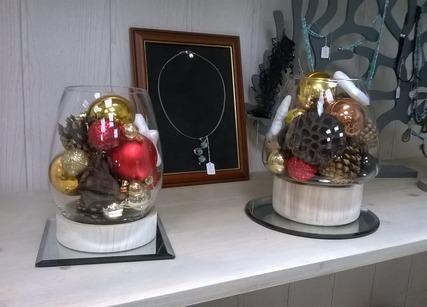 Composition décoratives de Noël